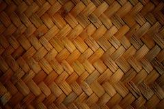 De textuur van de mand Stock Fotografie