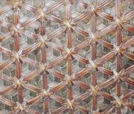 De textuur van de mand Royalty-vrije Stock Afbeelding