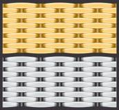 De textuur van de mand Royalty-vrije Stock Afbeeldingen