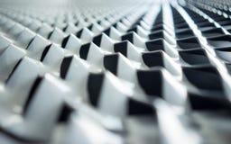 De textuur van de metaalomheining Stock Foto's