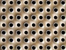 De textuur van de metaalpunt Stock Afbeelding