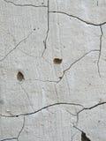 De textuur van de muur met barsten Stock Foto's