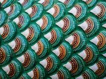 De Textuur van de Nagaschaal Royalty-vrije Stock Foto