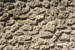 De textuur van de oude steen van de metselwerklava royalty-vrije stock fotografie