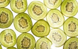 De Textuur van de Plak van de kiwi Royalty-vrije Stock Foto's