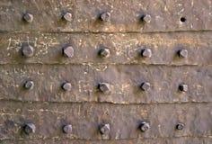 De textuur van de poort Stock Afbeeldingen