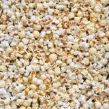 De textuur van de popcorn stock fotografie