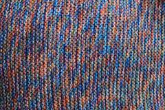 de textuur van de regenboogstof Royalty-vrije Stock Foto