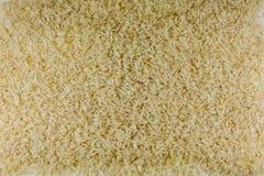 De textuur van de rijst kan als achtergrond worden gebruikt Stock Foto