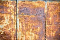 De textuur van de roest stock afbeeldingen