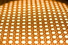 De textuur van de rotan Stock Foto