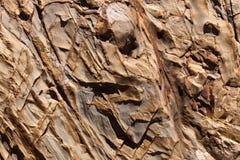 De textuur van de rots. Stock Afbeeldingen