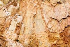 De textuur van de rots stock fotografie