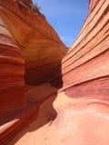 De textuur van de rots in Utah Royalty-vrije Stock Afbeeldingen