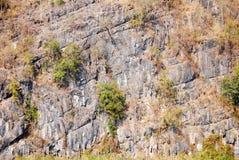 De textuur van de rotsmuur Royalty-vrije Stock Afbeeldingen