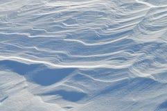 De textuur van de sneeuw Stock Foto