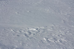De textuur van de sneeuw Royalty-vrije Stock Afbeeldingen