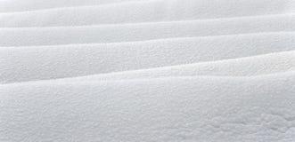 De textuur van de sneeuw stock afbeelding
