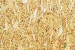 De textuur van de spaanplaat Stock Foto's