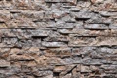 De textuur van de steen grijze muur natuurlijke kleur als achtergrond Royalty-vrije Stock Afbeelding