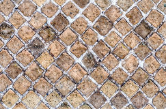 De Textuur van de steenBakstenen muur, kan als achtergrond gebruiken Stock Fotografie