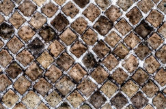De Textuur van de steenBakstenen muur, kan als achtergrond gebruiken Royalty-vrije Stock Foto's