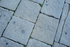 De textuur van de steenbestrating Stock Afbeelding