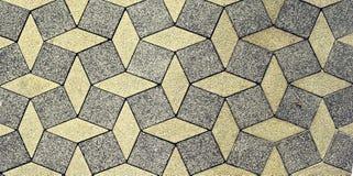 De textuur van de steenbestrating Stock Fotografie
