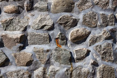 De textuur van de steenmuur Stock Foto's