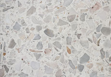 De textuur van de steenmuur, de achtergrond van de Terrazzovloer stock foto's