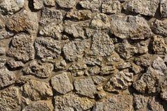 De textuur van de steenmuur op het navodaristrand Royalty-vrije Stock Afbeelding