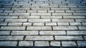 De textuur van de steenweg Stock Foto's
