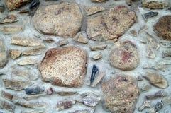 De textuur van de stenenmuur Royalty-vrije Stock Foto's