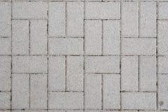 De textuur van de stoep Stock Afbeeldingen