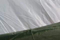 De textuur van de stof Stock Afbeeldingen