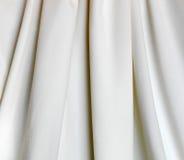 De textuur van de stof binnen terwijl achtergrond Royalty-vrije Stock Afbeeldingen