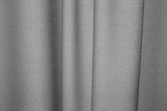 De textuur van de stof en de gordijnen Stock Afbeelding