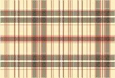 De Textuur van de Stof van het geruite Schotse wollen stof Royalty-vrije Stock Afbeelding