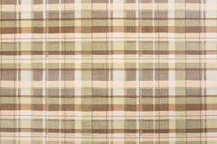 De textuur van de stoffenplaid. Doekachtergrond Royalty-vrije Stock Afbeelding