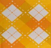 De textuur van de stoffenplaid kragenachtergrond Royalty-vrije Stock Afbeelding