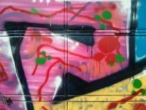 De textuur van de straatgraffiti Royalty-vrije Stock Fotografie