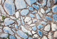 De textuur van de straatsteen Stock Afbeeldingen