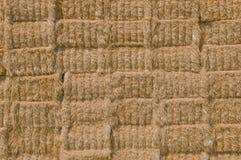De textuur van de strobaal Royalty-vrije Stock Afbeeldingen