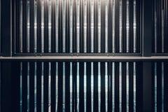De textuur van de structureel metaalarchitectuur Royalty-vrije Stock Foto