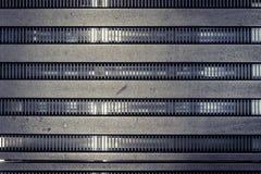 De textuur van de structureel metaalarchitectuur Stock Fotografie