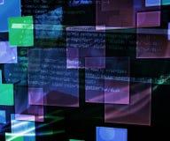 De Textuur van de technologieabstractie Royalty-vrije Stock Afbeelding