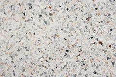 De textuur van de terrazzovloer, het opgepoetste marmer van de de muuroppervlakte van het steenpatroon voor achtergrond Stock Foto's