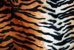 De textuur van de tijger Stock Foto's