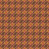 De Textuur van de tweed in Sinaasappel Stock Afbeelding
