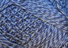 De textuur van de verwarring van draden met Stock Afbeelding